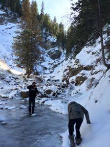 Treacherous Hike to Donut Falls, Utah