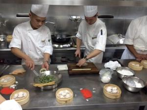 Dim Sum Making Class, Shanghai, China
