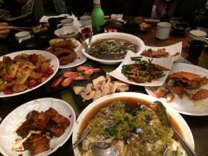 Family Dinner, Shanghai, China