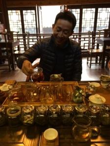 Tea Ceremony in Yu Garden, Shanghai, China