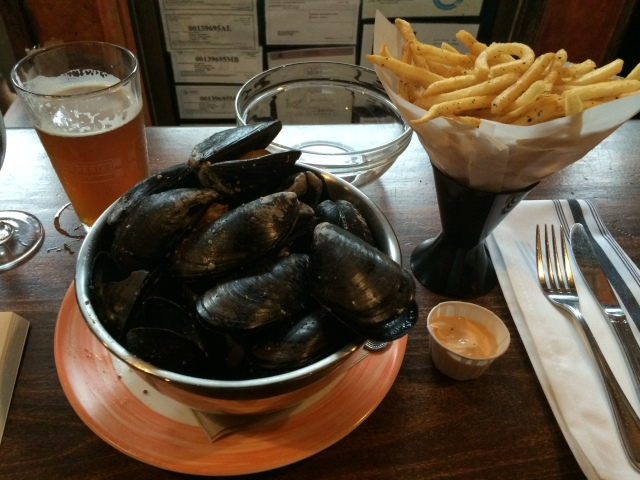 Mussels at Buchon, Asheville, NC