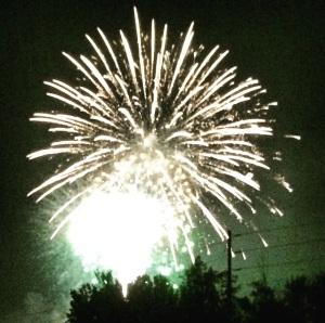 Fireworks, Lakewood, WI