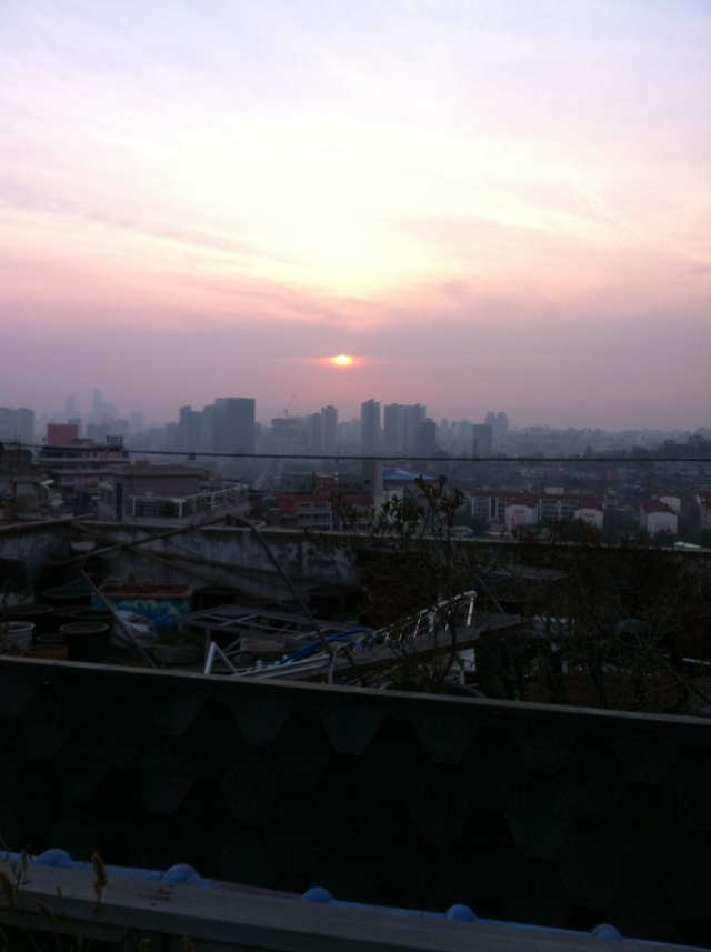 Katie's Rooftop View, Seoul