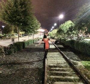 Train Tracks, Dubuque, Iowa