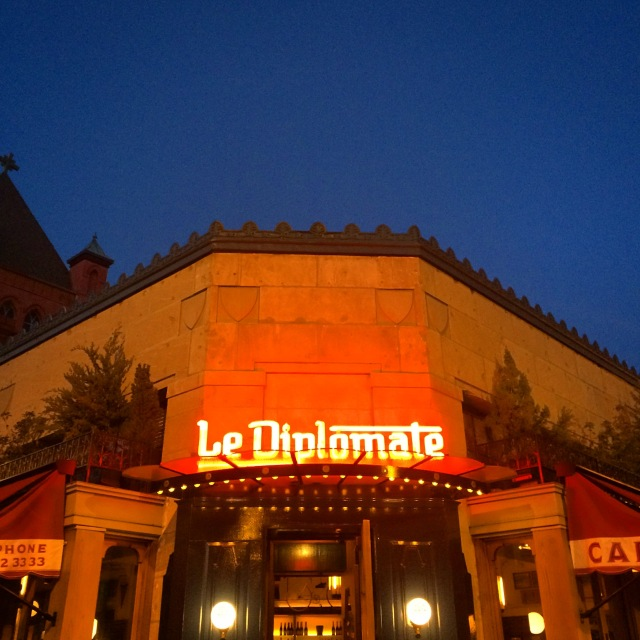 Washington D.C., Le Deiplomate, French Restaurant