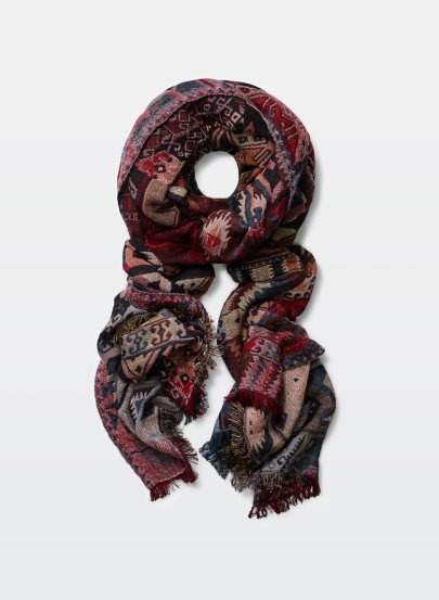 A Cozy Scarf from Aritzia